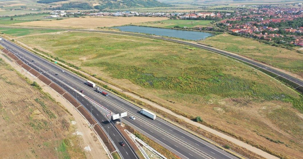 Nodul de la Sebeș este gata. Au fost inaugurate ultimele două bretele, cele spre/dinspre Sibiu
