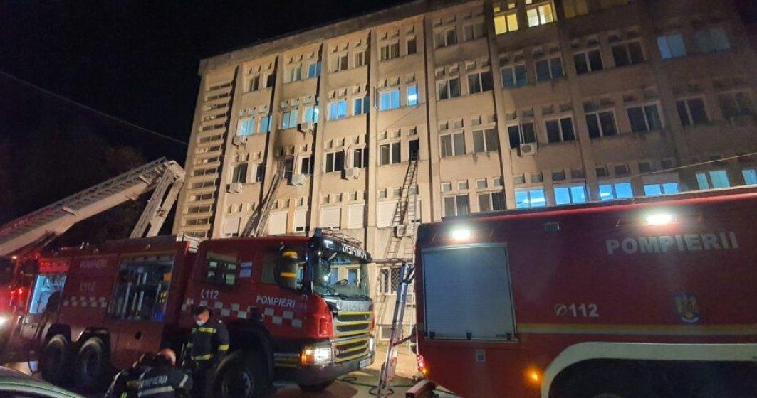Celulă de criză la Ministerul de Interne: decizii de ULTIMĂ ORĂ ale autorităților privind incendiul din secția ATI a Spitalului Județean de Urgență Piatra Neamț