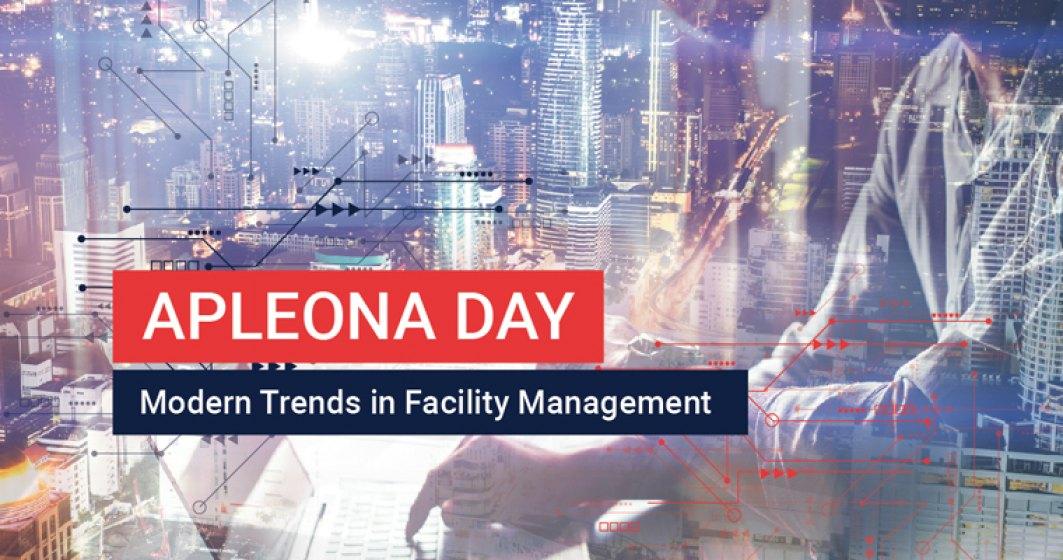 (P) Apleona Day - cele mai importante noutati din domeniul managementului facilitatilor. Eveniment destinat celor care isi gestioneaza afacerea cu gandul la viitor
