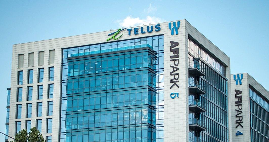 Telus se extinde in AFI Park si ajunge la 10.000 mp de spatii de birouri in Bucuresti