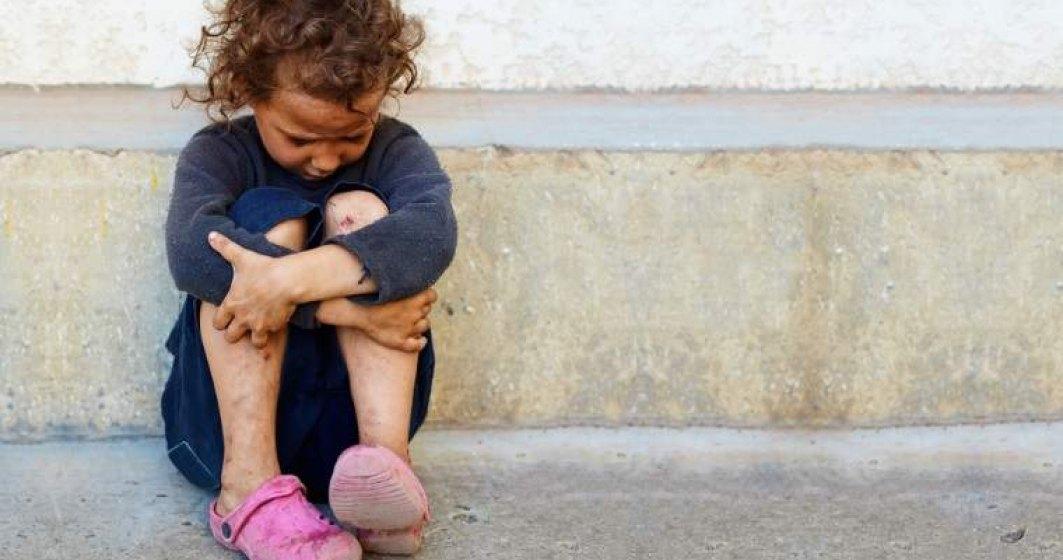 STUDIU despre realitatea trista din Romania: In mediul rural, unul din 10 copii merge la culcare flamand