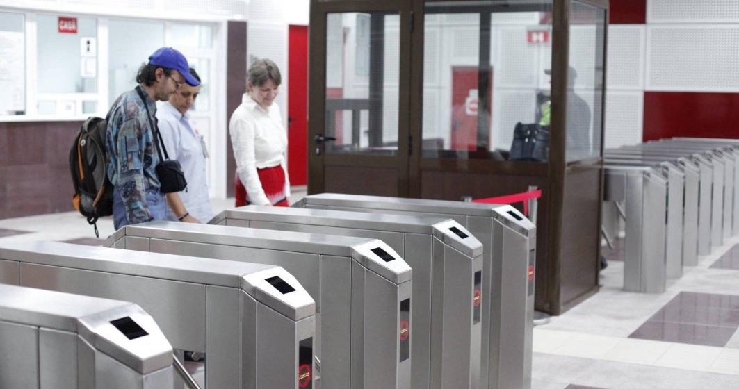Metrorex: Plata cu cardul contactless, direct la porțile de acces din stațiile de metrou, după finalizarea implementăriile sistemului