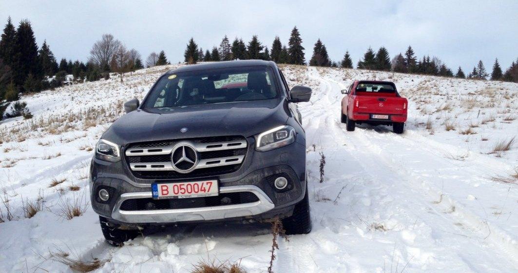 Daimler vrea sa scoata din productie pick-up-ul Clasa X, model lansat la finalul anului 2017