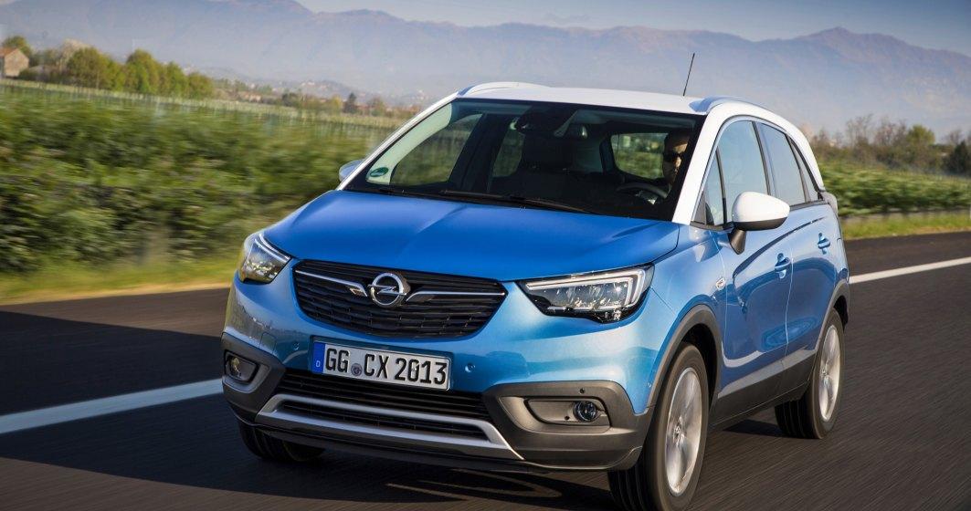 Opel a anuntat preturile SUV-ului Crossland X pentru Romania. Costa de la 12.920 euro cu TVA