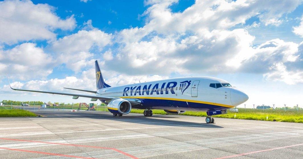 Zbor nou Ryanair din România. Care este destinația turistică