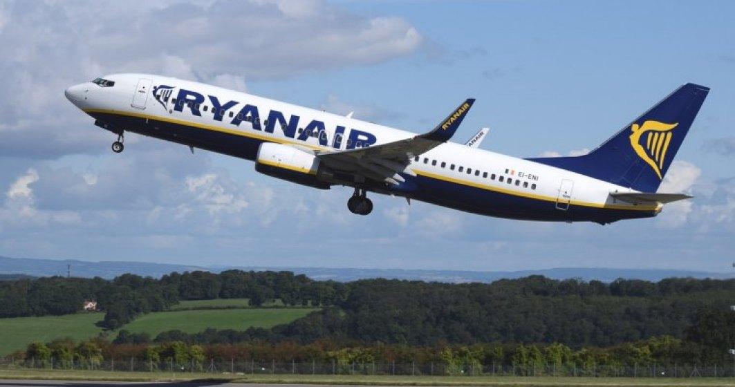 Ryanair reduce tarifele cu 20% de Dragobete: unde poti sa zbori cu 5 euro
