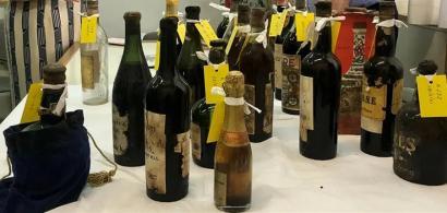 Descoperire istorică în Grecia: peste 4.000 de sticle de vin au fost găsite...