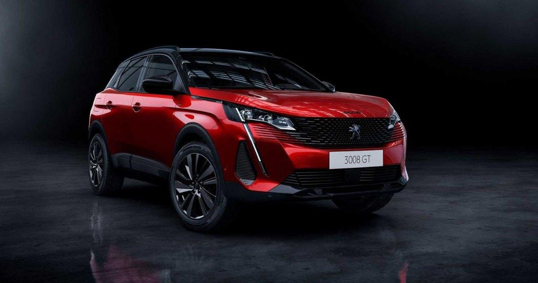 Peugeot 3008 primește un look nou și versiuni plug-in hybrid