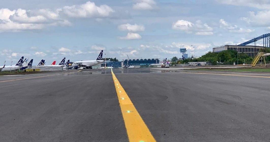 Infrastructura rutieră a Aeroportului Henri Coandă a fost refăcută