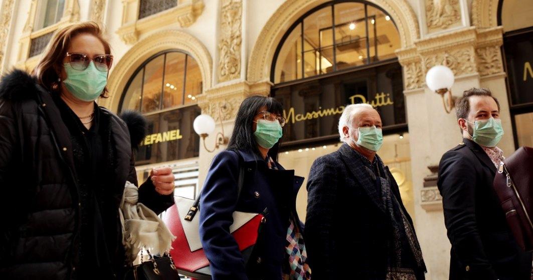 Coronavirus Italia: Câte persoane și-au revenit și la cât a ajuns numărul deceselor
