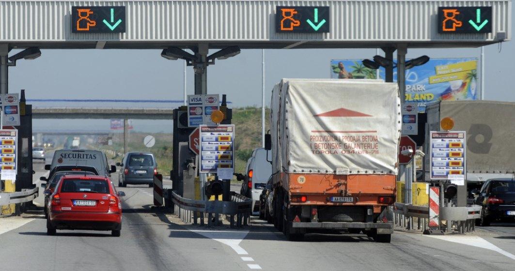 Aproximativ 30.000 de vehicule intre 3,5 tone si 12 tone vor plati mai mult pentru roviniete