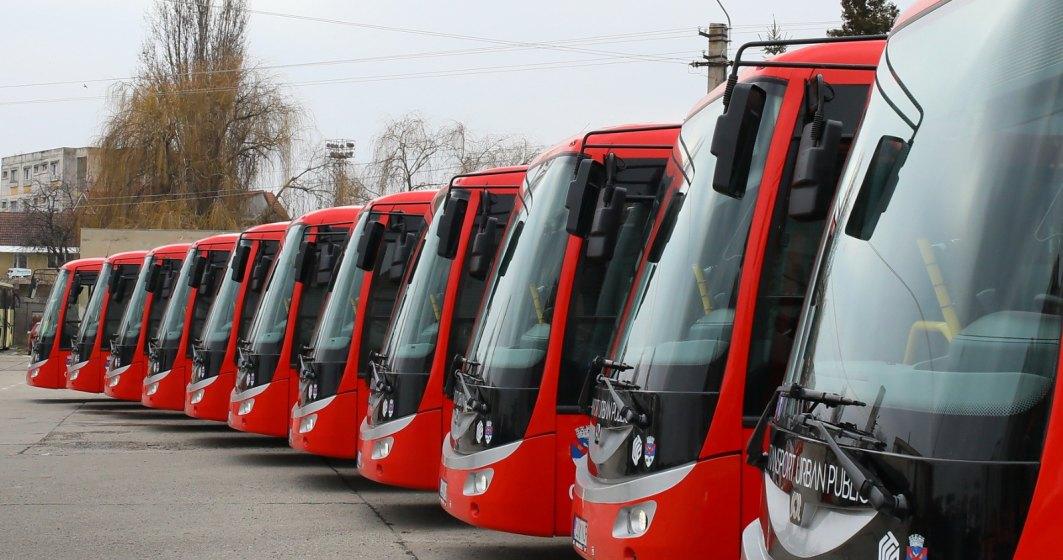 Turda a devenit primul oras din Romania cu transport in comun exclusiv electric. Care sunt dotarile celor 20 de autobuze electrice