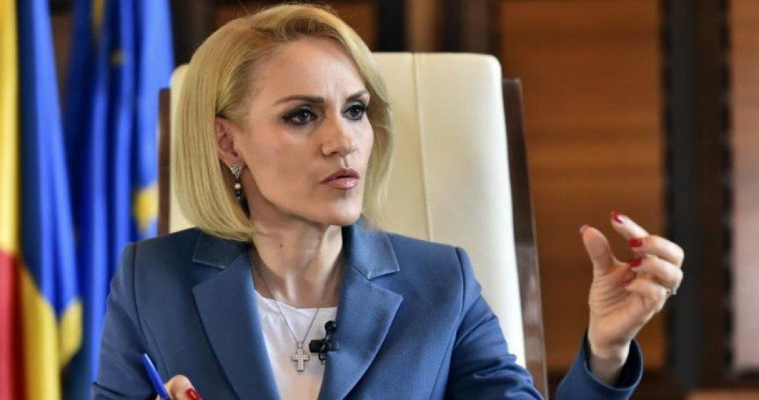 """O noua rectificare bugetara pentru Bucuresti. Gabriela Firea aloca mai multi bani pentru """"recreere si religie"""""""
