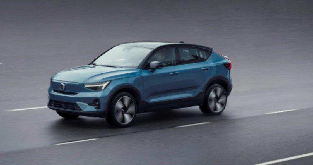 Volvo a prezentat C40 Recharge, cel de-al doilea model electric suedez