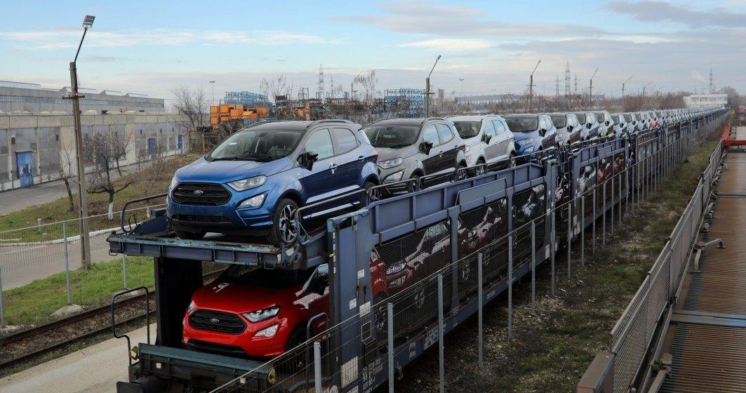 Ford produce la Craiova circa 400 de vehicule EcoSport pe zi