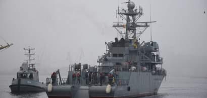 """Nava militară """"Locotenent Lupu Dinescu"""" încheie ultima misiune NATO din anul..."""