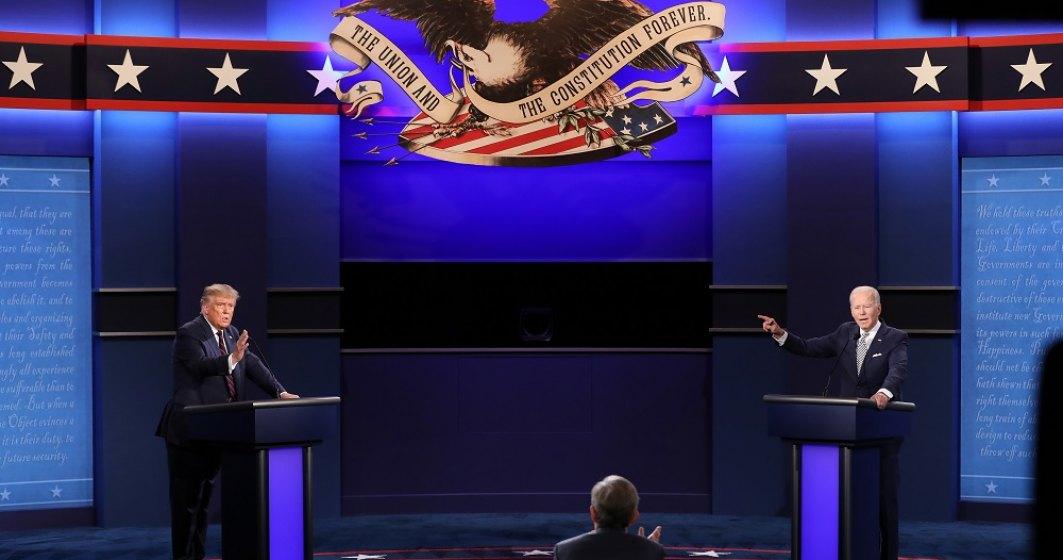 Alegeri prezidențiale SUA: Joe Biden are un avans în sondaje, în fața lui Donald Trump