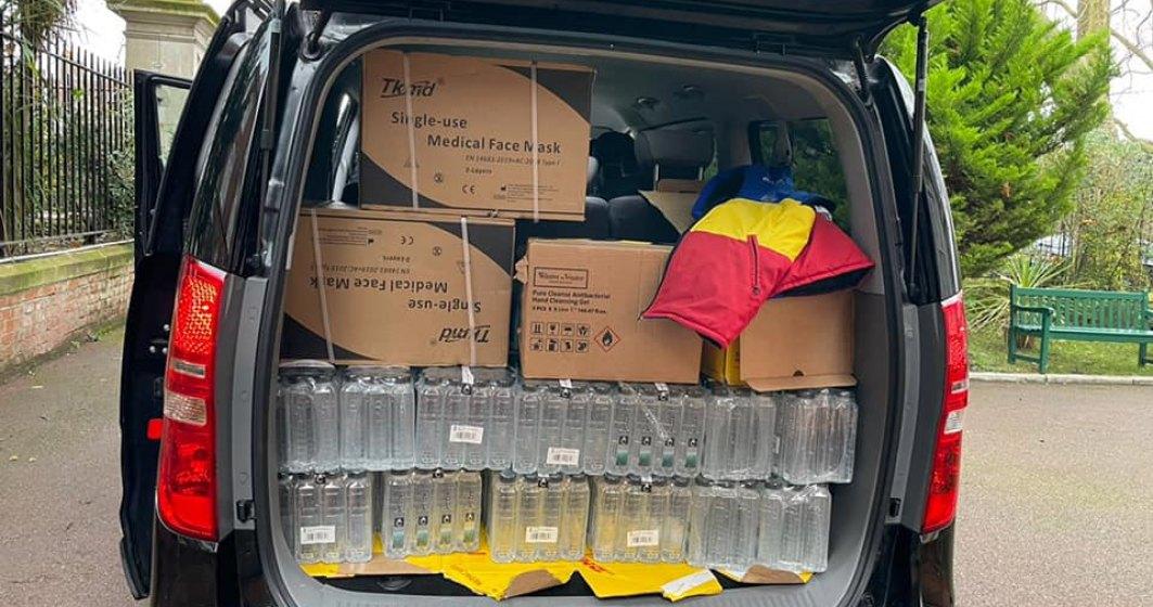 MAE: O echipă a Ambasadei României la Londra asigură asistență șoferilor blocați