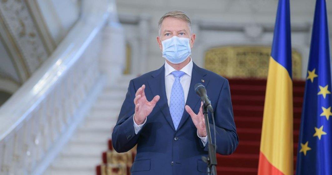 Iohannis: Vaccinarea anti-COVID-19, chestiune de securitate națională