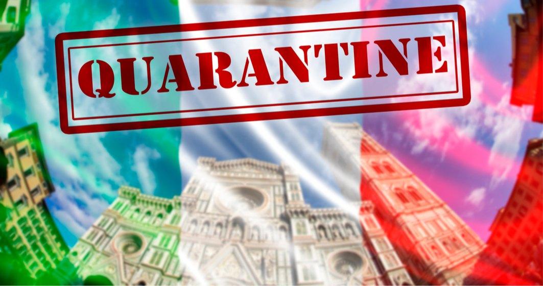 Italia prelungește măsura carantinei pentru cei care vin din România