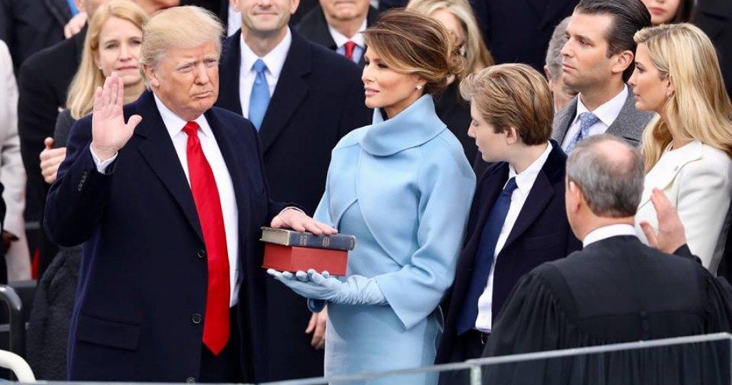 Cronologia ceremoniei de investire a lui Donald Trump in functia de presedinte al Statelor Unite ale Americii