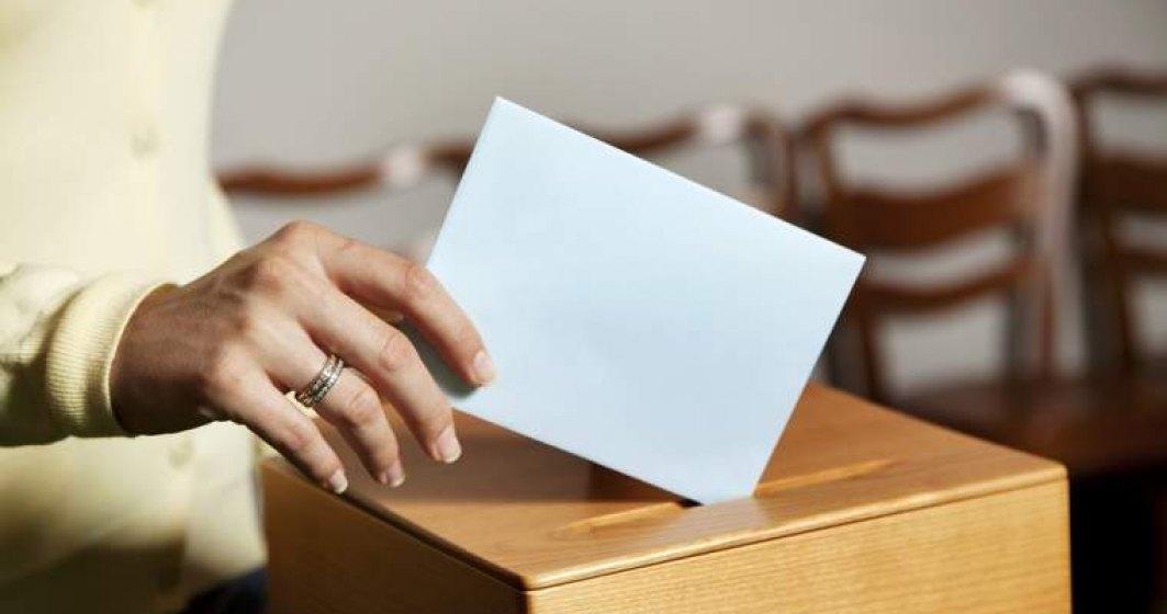 BEC: Prezenta la vot in Bucuresti, la ora 14.00 - 21,12%; cei mai multi votanti, in Sectorul 1 - 24,30%, cei mai putini, in Sectorul 5 - 18,48%