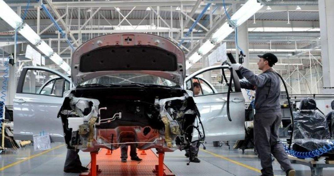 Producția de autoturisme în România în primele 5 luni din 2021