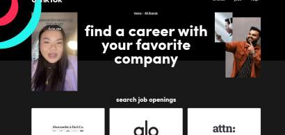 TikTok testează angajarea prin intermediul aplicației: Shopify, una dintre...
