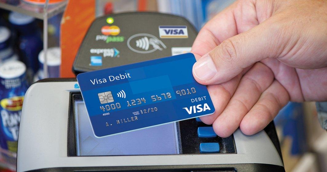 Compania Visa, concurată de cantitățile masive de bani europeni în numerar