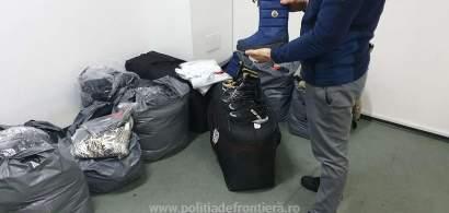Peste 5.000 de bunuri contrafăcute au fost confiscate la P.T.F. Giurgiu, în...