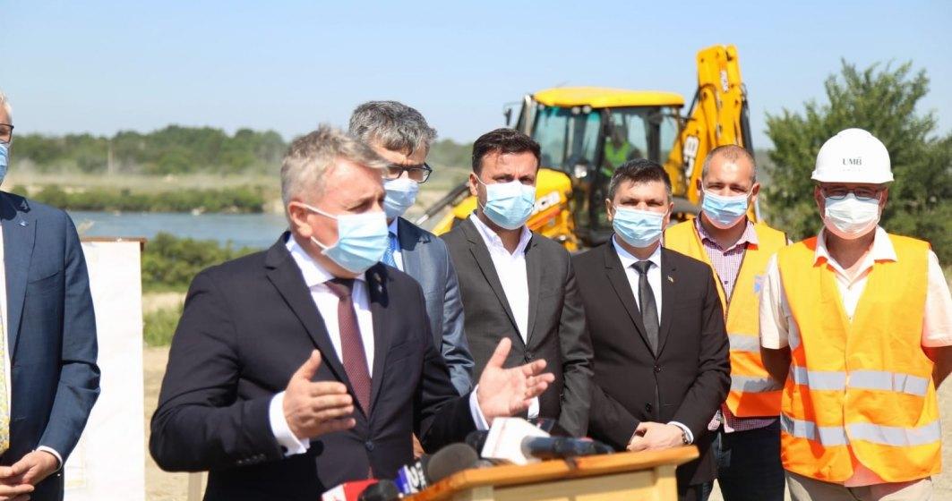 Sectorul de Autostradă Târgu Mureş - Ungheni: au început lucrările la construcţie