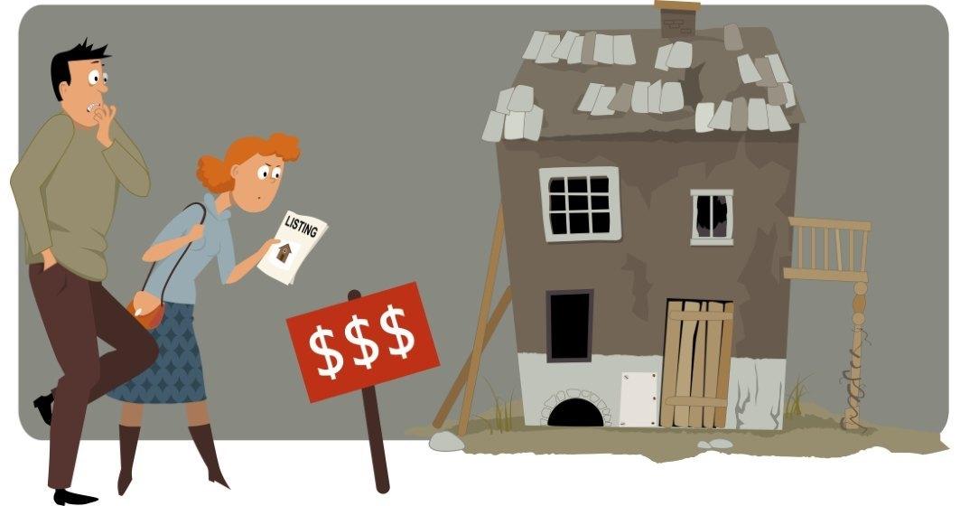 Cum au galopat din 2010 și până acum veniturile românilor comparativ cu prețul locuințelor și nivelul chiriilor