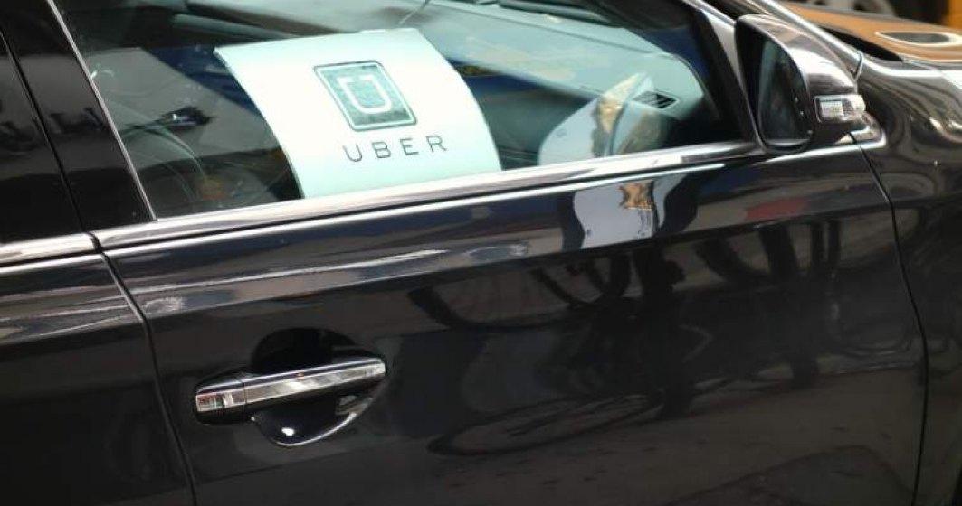 Uber critica OUG privind legea taximetriei si doreste o legislatie pentru ride sharing