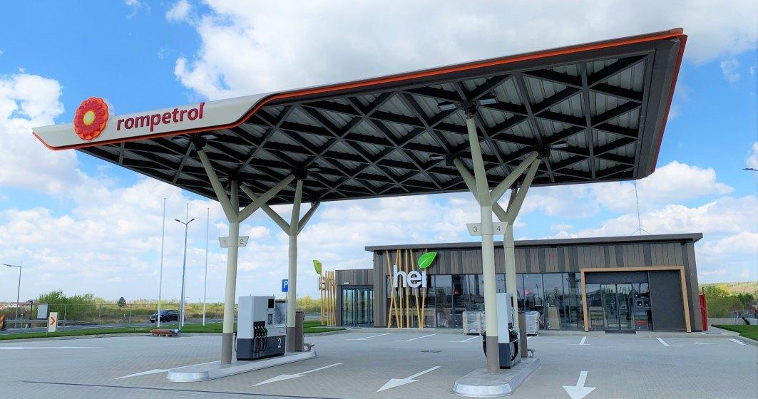 Zece noi stații de alimentare deschise de Rompetrol, în toată țara