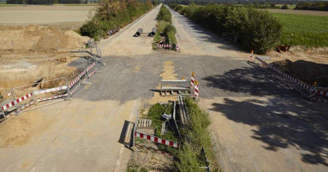 INS: 747 de kilometri de autostrada, in Romania. 36% din drumurile publice, pietruite si de pamant