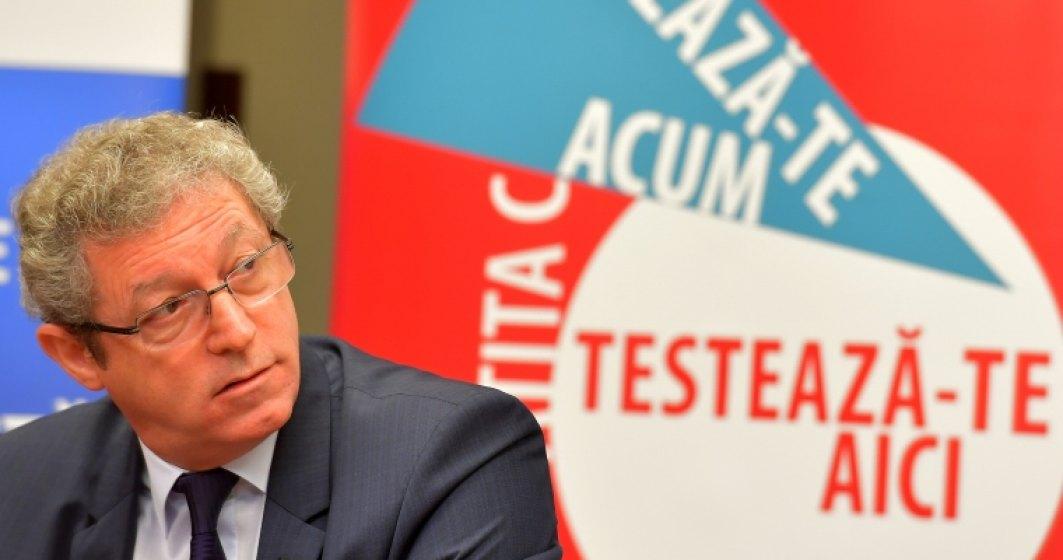 Adrian Streinu Cercel cere Ministerului Sanatatii ca testarea pentru hepatita, HIV si SIDA sa fie obligatorie