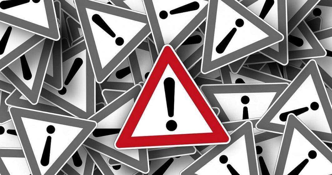 RO-ALERT: Bucureștenii au fost avertizați că există un Cod Portocaliu de averse