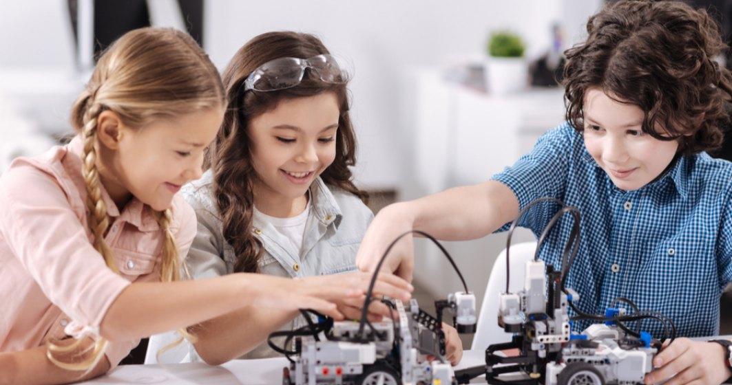 Logiscool România organizează tabere de vară pentru copiii pasionați de robotică și programare