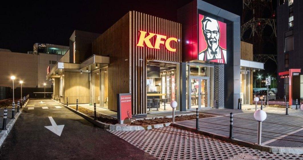 KFC investeste un milion de euro intr-o noua locatie de tip Drive-Thru in Bucuresti
