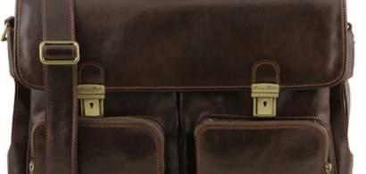 5 modele de genți laptop și serviete din piele, practice și elegante pentru...