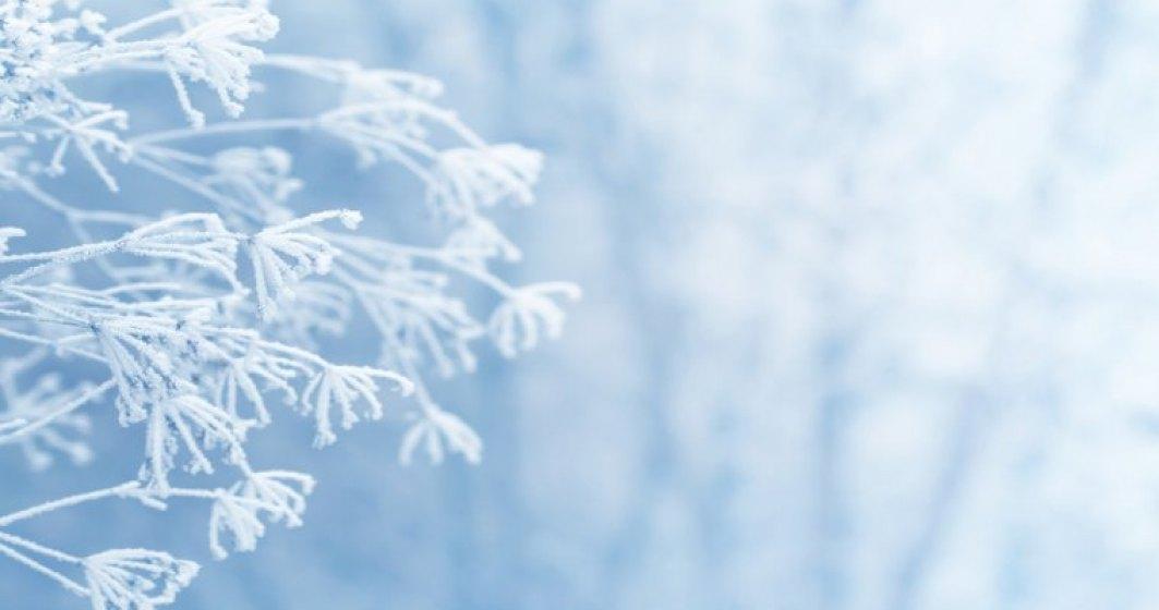 Cod galben de ger in Bucuresti si 21 de judete, unde vor fi temperaturi minime intre -22 si -14 grade, pana sambata dimineata