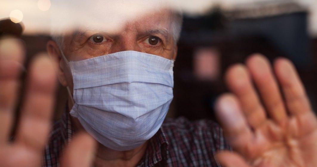 Raport COVID-19 în România: 80,7% din totalul deceselor, la persoane de peste 60 de ani