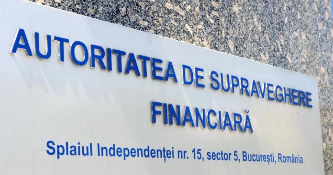 ASF a suspendat activitatea SSIF Romcapital pentru 60 de zile