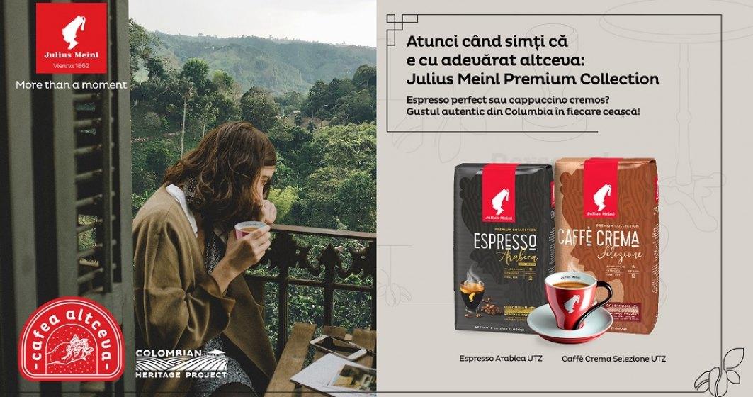 Julius Meinl îți propune gustul columbian definit de expertiza vieneză