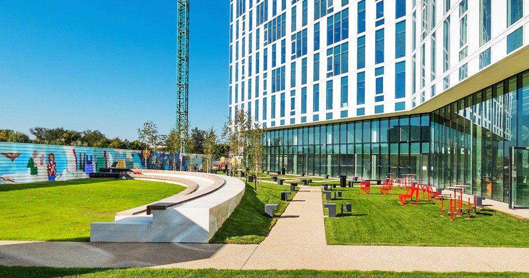 Skanska a inaugurat prima cladire de spatii de birouri din cadrul proiectului Campus 6 din vestul Capitalei