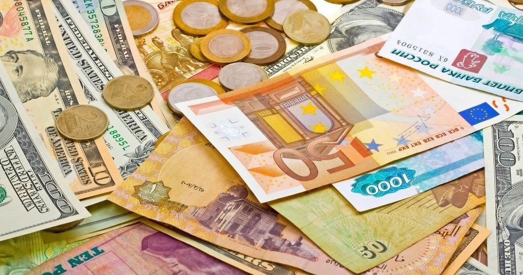 Curs valutar BNR azi, 04 august: leul se apreciaza in raport cu moneda unica europeana insa pierde in fata dolarului