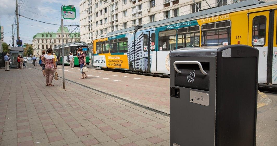 Primăria Iași a cumpărat coșuri de gunoi cu memorie, voce și cu care se poate dialoga