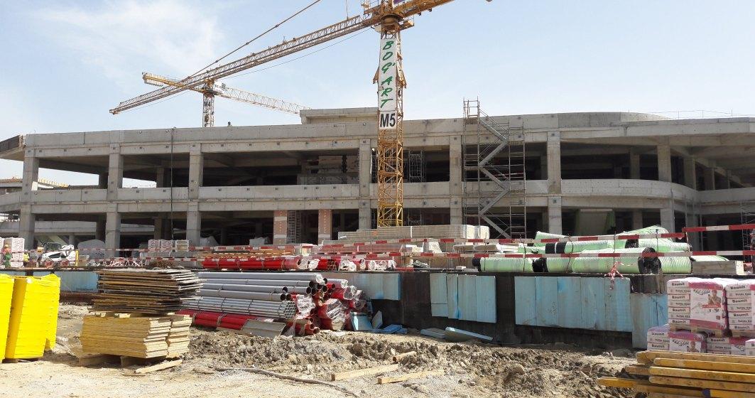 Veranda Mall, in linie dreapta pentru deschiderea din toamna: cum arata santierul viitorului centru comercial din zona Obor, finalizat in proportie de peste 70%