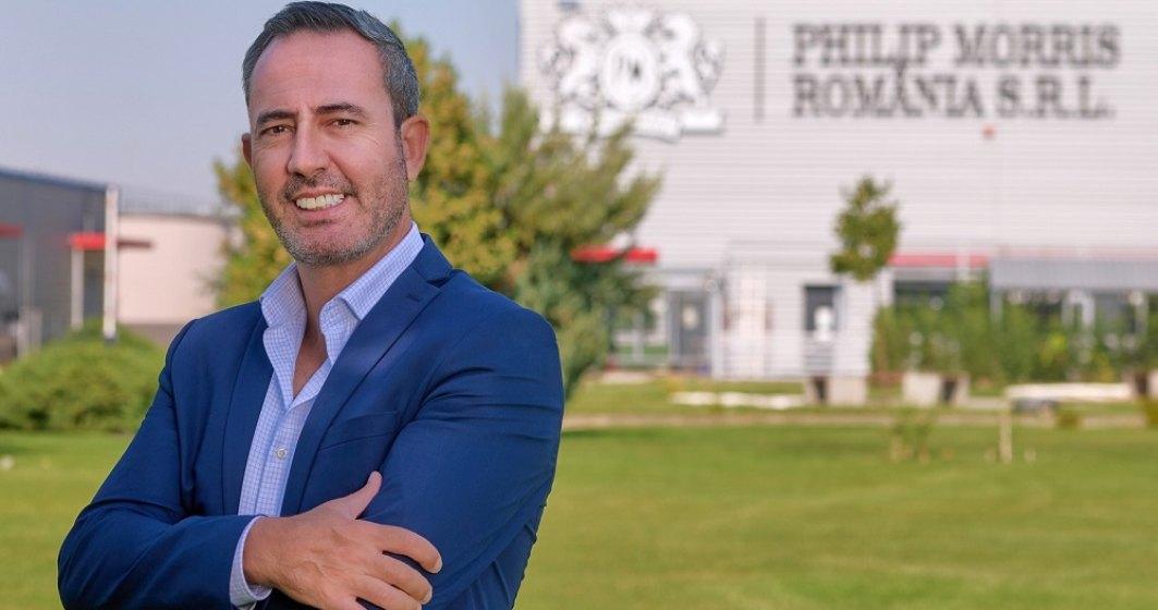 Joao Brigido este noul directorul al fabricii Philip Morris din Otopeni