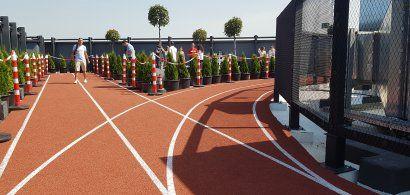 FOTO | A fost inaugurată prima pistă de alegare pe o clădire de birouri din...